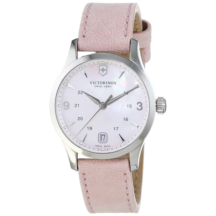 Victorinox Swiss Army Women's 241663 Alliance Pink Leather Watch