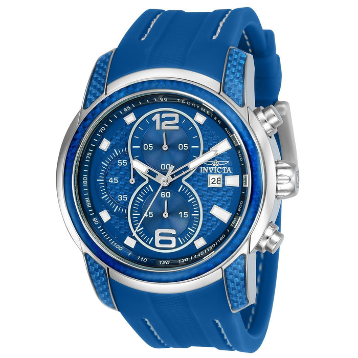 Invicta Men's 24239 S1 Rally Blue Silicone Watch