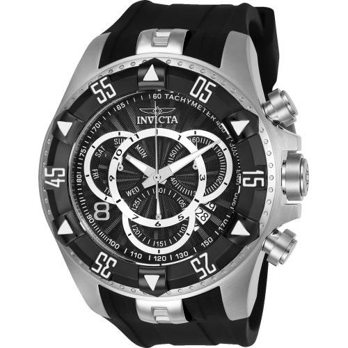 Invicta Men's 24271 Excursion Black Silicone Watch