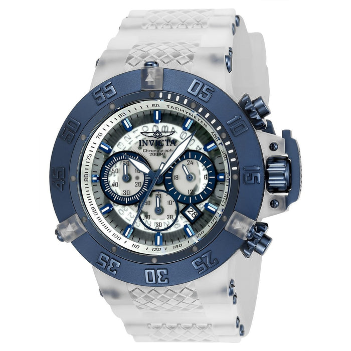 Invicta Men's 24363 Subaqua Anatomic White Silicone Watch