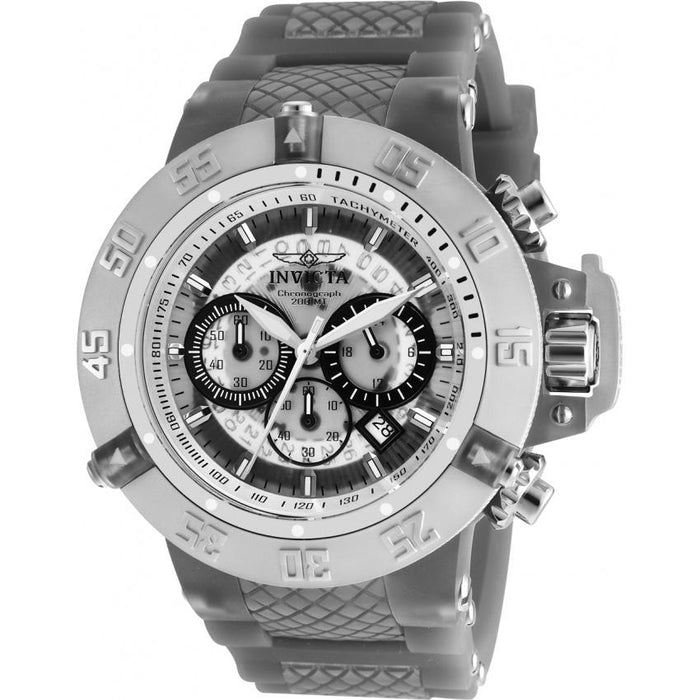Invicta Men's 24367 Subaqua Anatomic Grey Silicone Watch