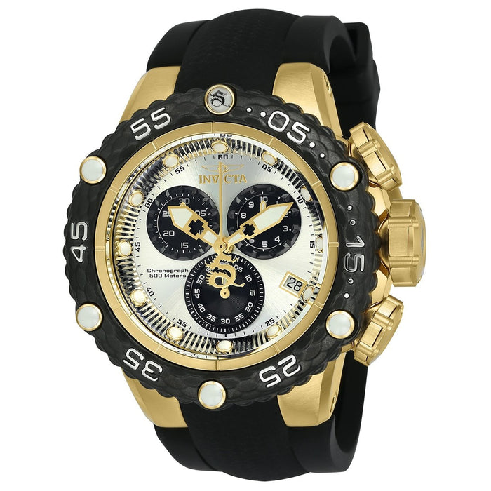 Invicta Men's 24445 Subaqua Black Silicone Watch