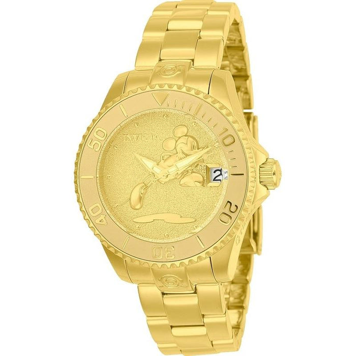 Invicta Women's 24533 Disney Mickey Mouse Automatic Gold-tone Stainless Steel Watch