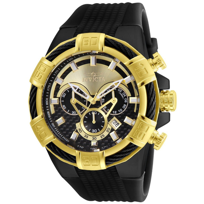 Invicta Men's 24699 Bolt Black Silicone Watch