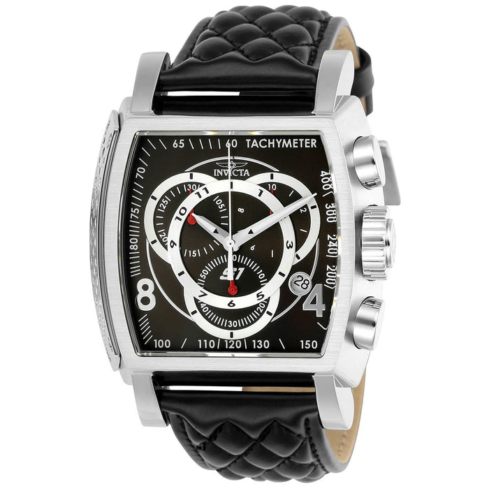 Invicta Men's 24728 S1 Rally Black Leather Watch