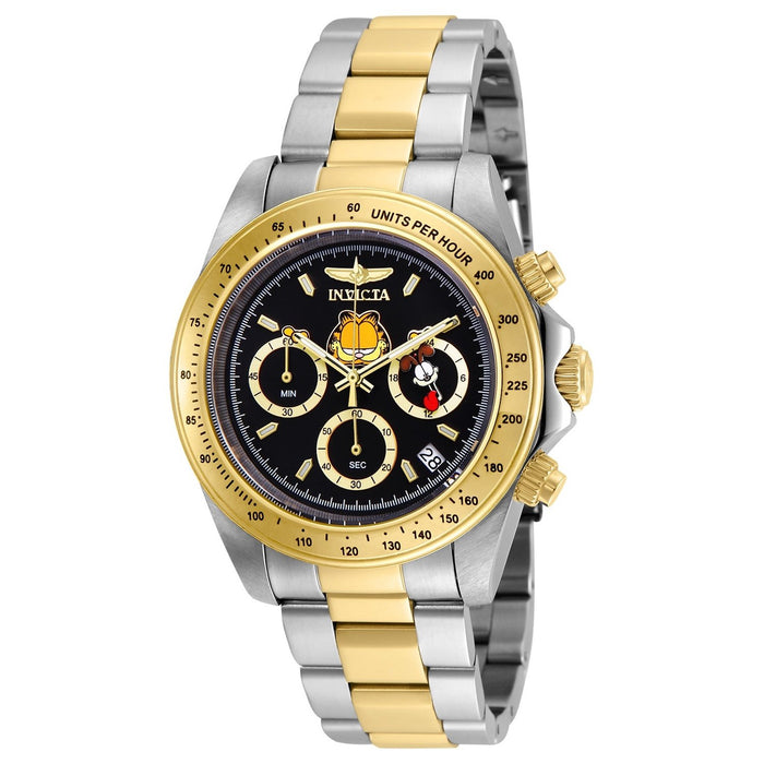 Invicta Men's 24890 Character Garfield Gold-tone and Silver Stainless Steel Watch