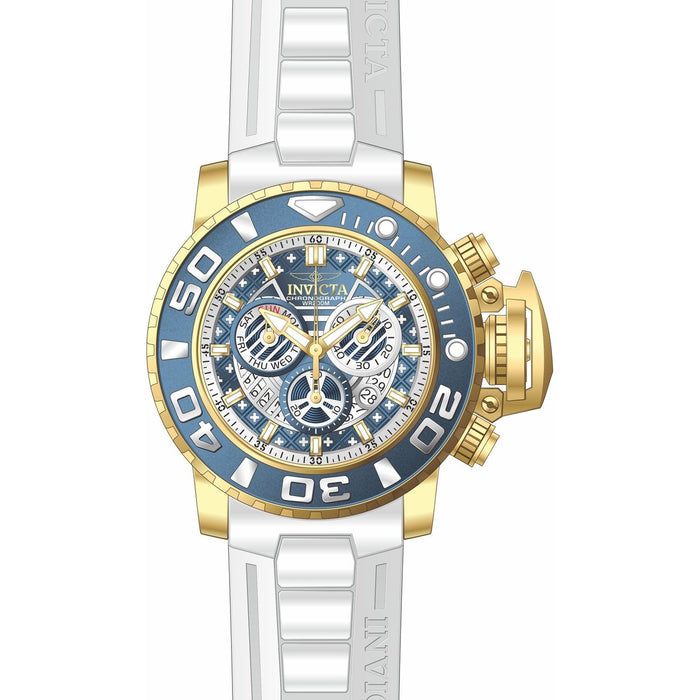 Invicta Men's 24934 Sea Hunter White Polyurethane Watch