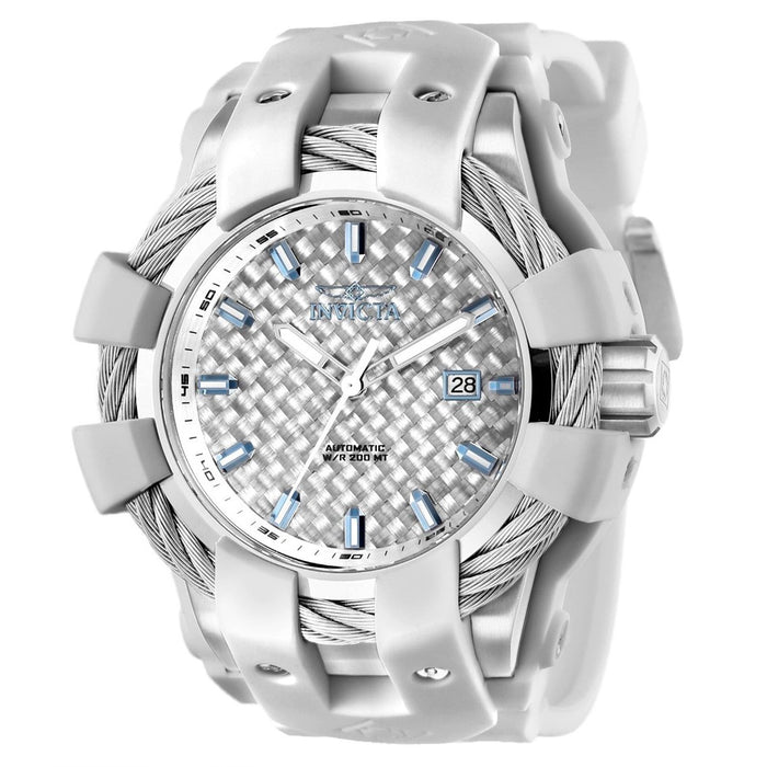 Invicta Men's 25033 Bolt Automatic White Silicone Watch