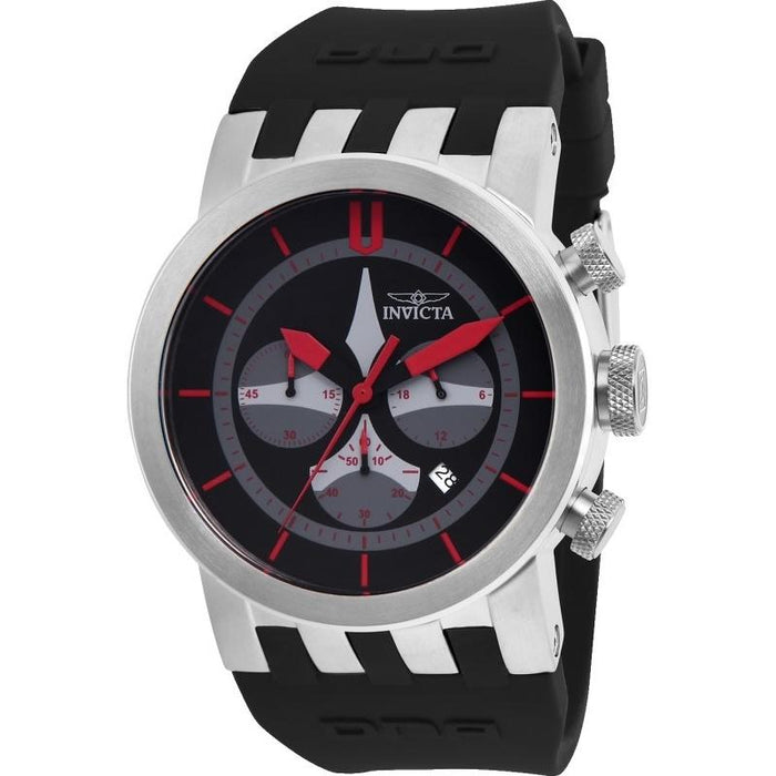 Invicta Men's 25056 DNA Black Silicone Watch
