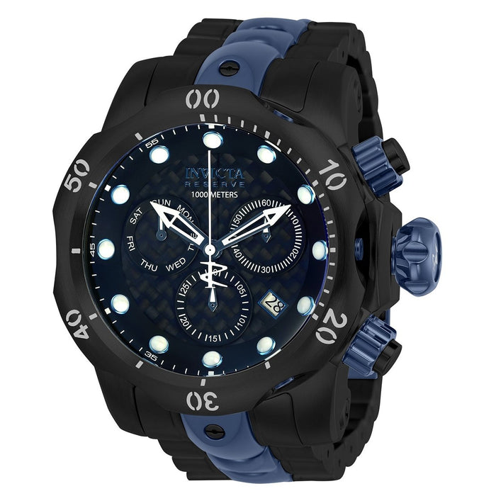 Invicta Men's 25062 Reserve Venom Black and Blue Stainless Steel Watch