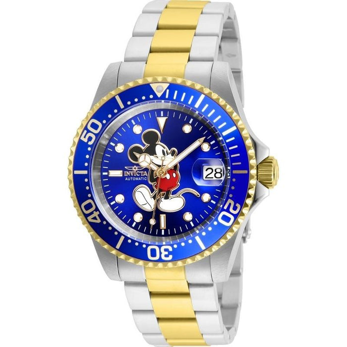 Invicta Men's 25105 Disney Mickey Mouse Automatic Gold-Tone and Silver Stainless Steel Watch