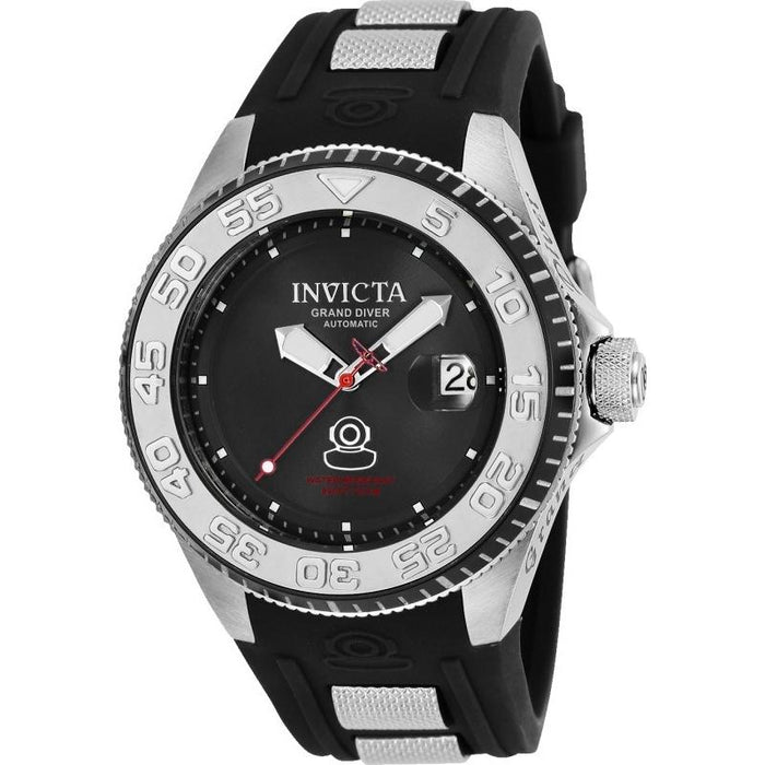Invicta Men's 25253 Pro Diver Automatic Black Silicone Watch