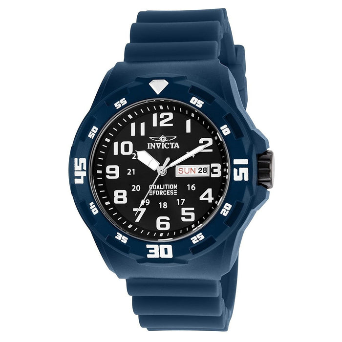 Invicta Men's 25324 Coalition Forces Blue Silicone Watch