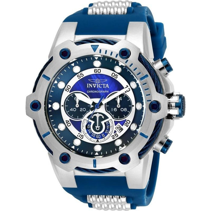 Invicta Men's 25465 Bolt Blue and Silver Polyurethane and Stainless Steel Watch