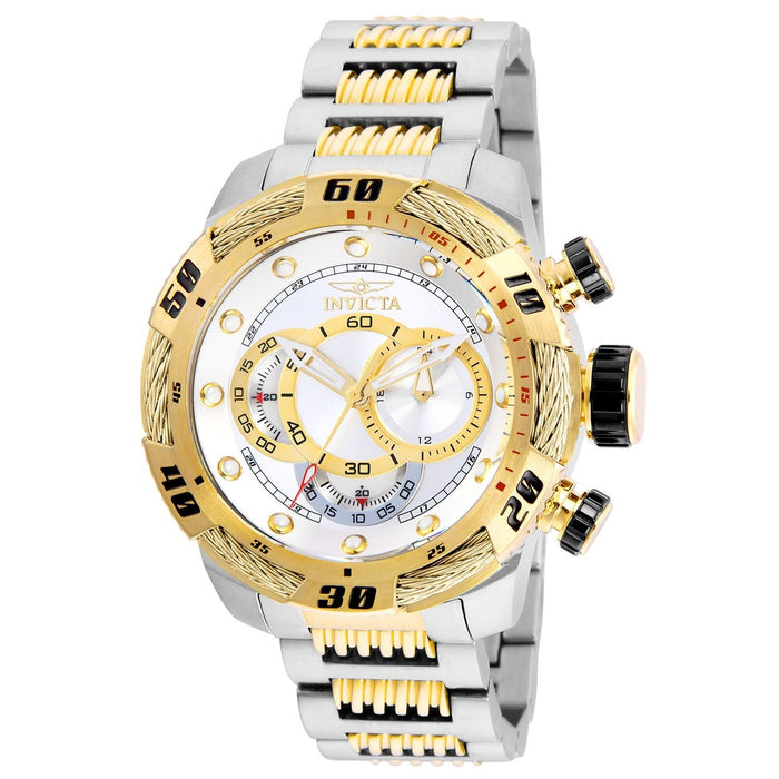 Invicta Men's 25480 Speedway Gold-Tone and Silver Stainless Steel Watch