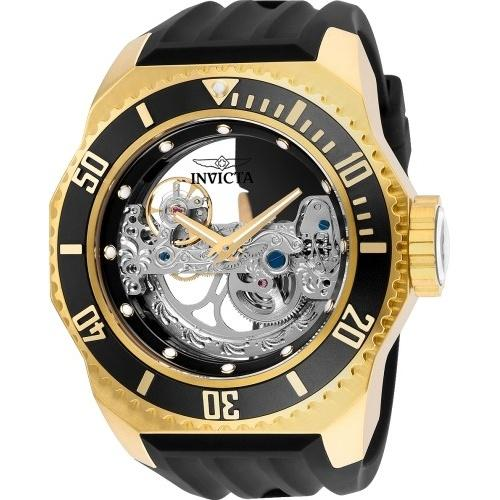 Invicta Men's 25625 Russian Diver Automatic Black Silicone Watch