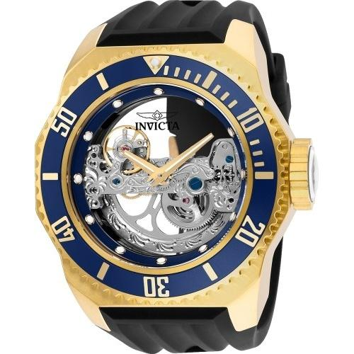 Invicta Men's 25626 Russian Diver Automatic Black Silicone Watch