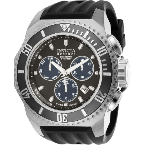 Invicta Men's 25729 Russian Diver Black Silicone Watch