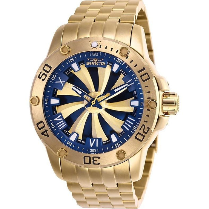 Invicta Men's 25851 Speedway Automatic Gold-Tone Stainless Steel Watch