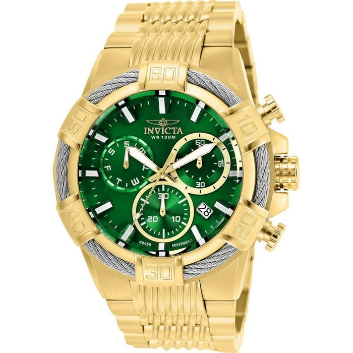 Invicta Men's 25869 Bolt Gold-tone Stainless Steel Watch