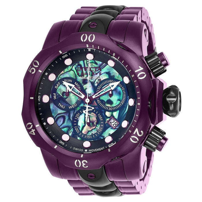 Invicta Men's 25917 Reserve Venom Purple Stainless Steel Watch