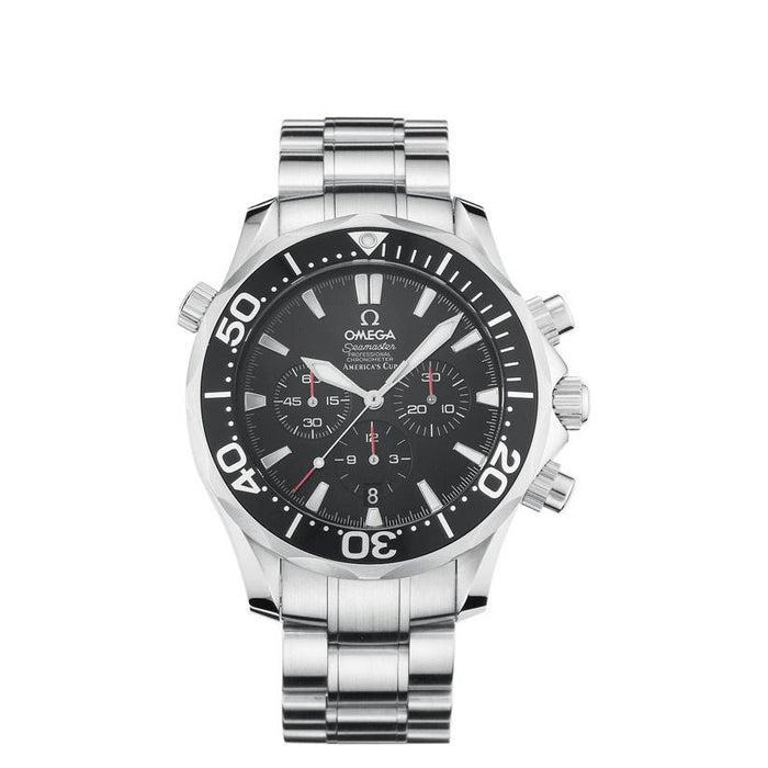 Omega Men's 2594.5 Seamaster Professional America´s Cup Chronograph Automatic Stainless Steel Watch
