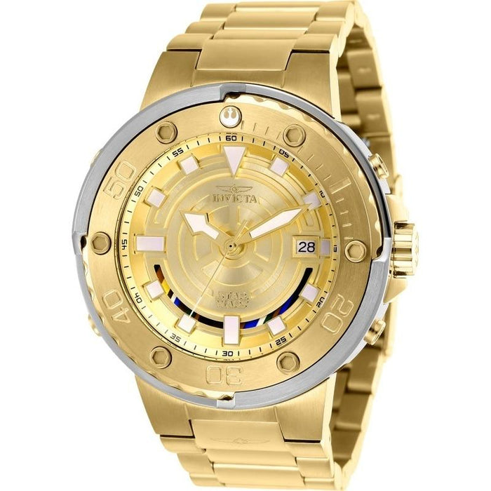 Invicta Men's 26114 Star Wars C-3PO Automatic Gold-tone Stainless Steel Watch