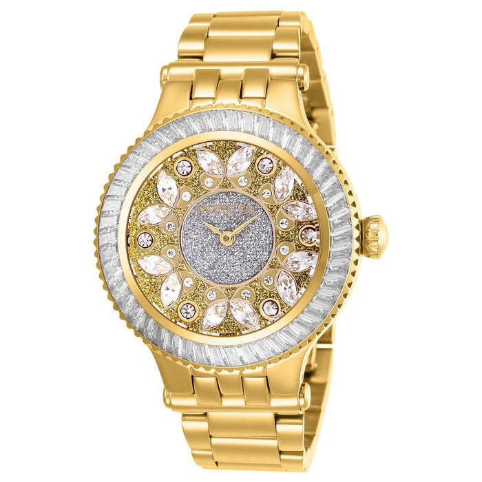 Invicta Women's 26155 Subaqua 3 Gold-Tone Stainless Steel Watch