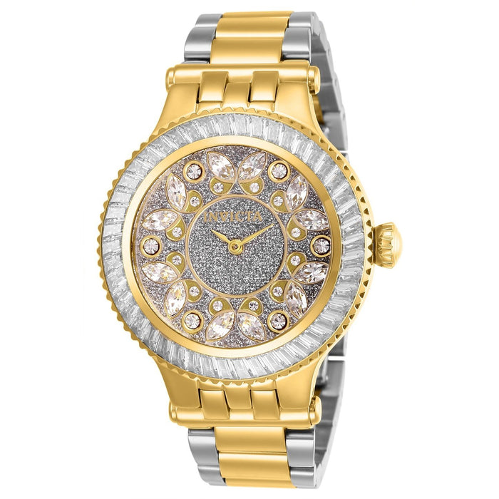 Invicta Women's 26156 Subaqua 3 Gold-Tone and Silver Stainless Steel Watch