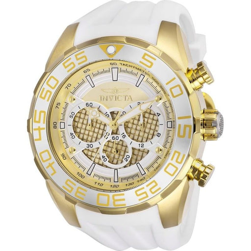Invicta Men's 26303 Speedway White Silicone Watch