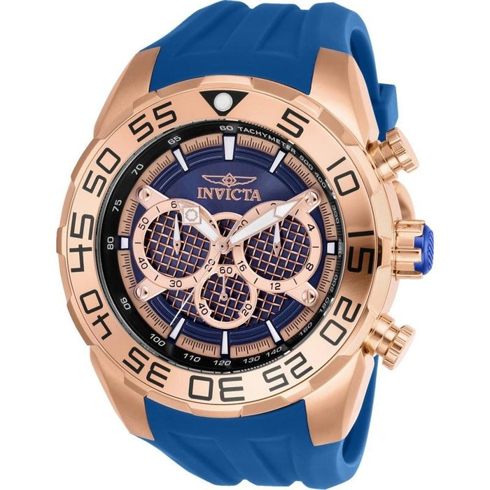 Invicta Men's 26305 Speedway Blue Silicone Watch
