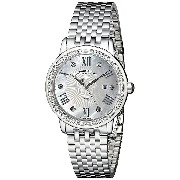 Raymond Weil Women's 2637-STS-00966 Maestro Automatic Diamond Stainless Steel Watch