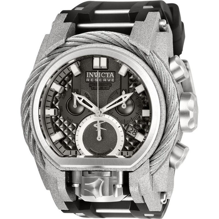 Invicta Men's 26446 Reserve Bolt Zeus Black and Silver Stainless Steel Watch