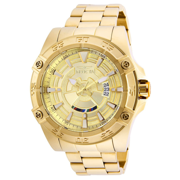 Invicta Men's 26522 Star Wars C-3PO Automatic Gold-Tone Stainless Steel Watch