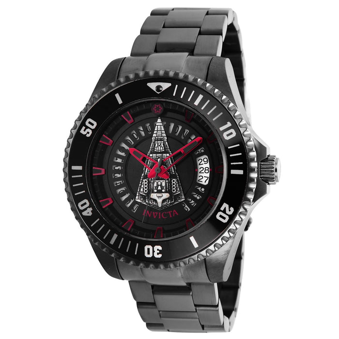 Invicta Men's 26560 Star Wars Galactic Empire Automatic Black Stainless Steel Watch