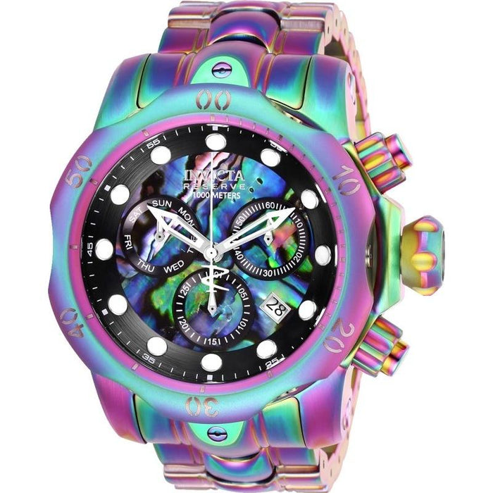 Invicta Men's 26582 Reserve Venom Iridescent Stainless Steel Watch