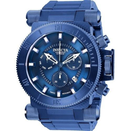 Invicta Men's 26646 Coalition Forces Blue Stainless Steel Watch