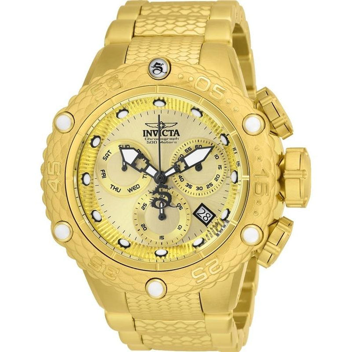 Invicta Men's 26648 Subaqua Noma VI Gold-Tone Stainless Steel Watch