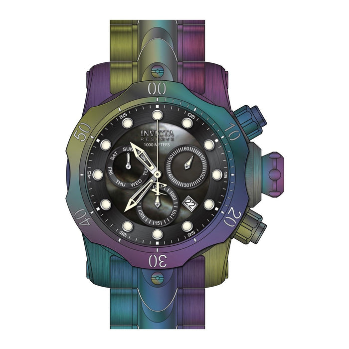 Invicta Men's 26666 Reserve Venom Rainbow Stainless Steel Watch