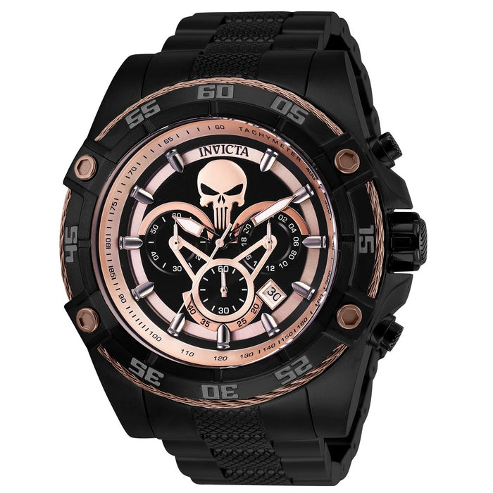 Invicta Men's 26866 Marvel Black Panther Black Stainless Steel Watch