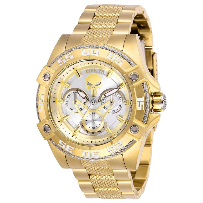 Invicta Women's 27021 Marvel Punisher Gold-tone Stainless Steel Watch