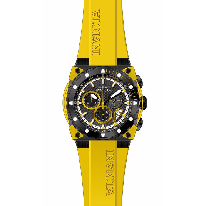 Invicta Men's 27346 S1 Rally Yellow Silicone Watch