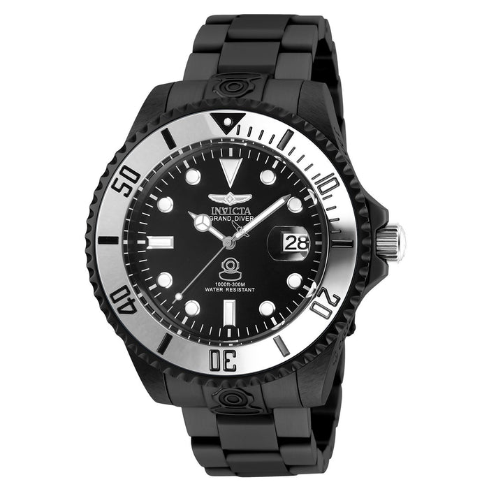 Invicta Men's 27536 Pro Diver Black Stainless Steel Watch