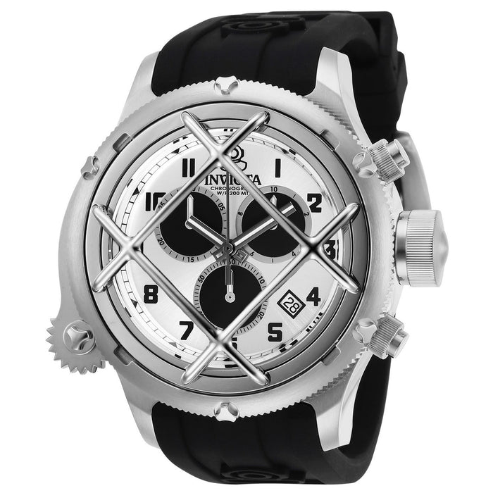 Invicta Men's 27722 Russian Diver Black Silicone Watch
