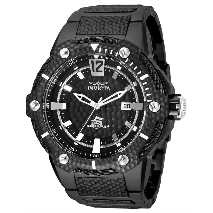 Invicta Men's 28006 Black Stainless Steel Watch
