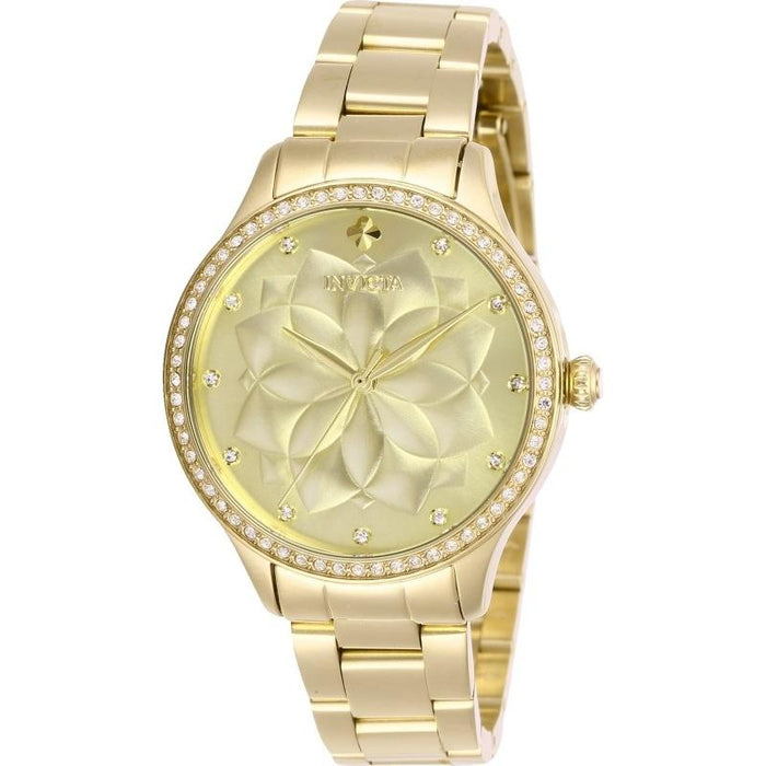 Invicta Women's 28056 Wildflower Gold-Tone Stainless Steel Watch