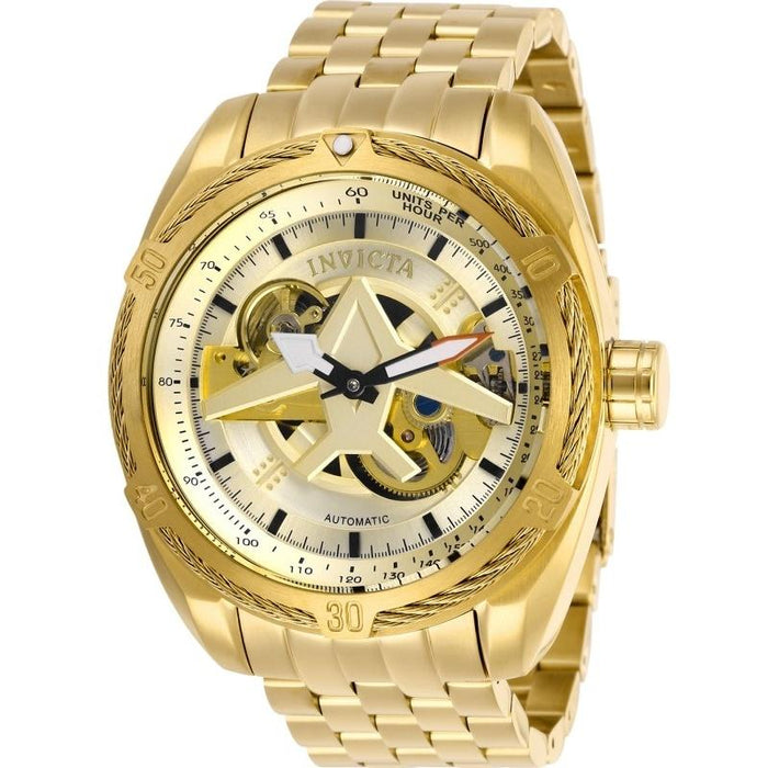 Invicta Men's 28211 Aviator Automatic Gold-Tone Stainless Steel Watch