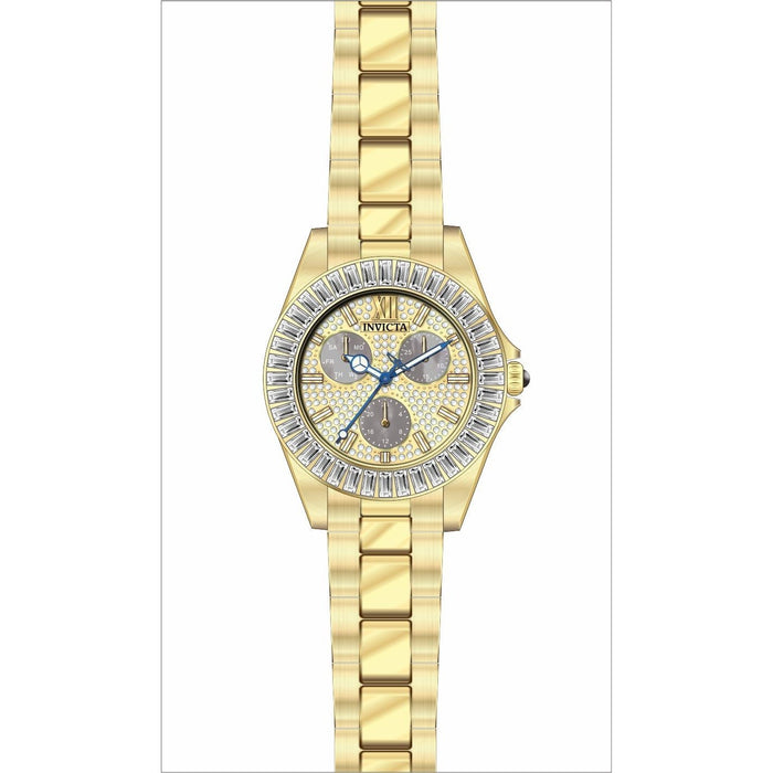 Invicta Women's 28449 Angel Gold-Tone Stainless Steel Watch