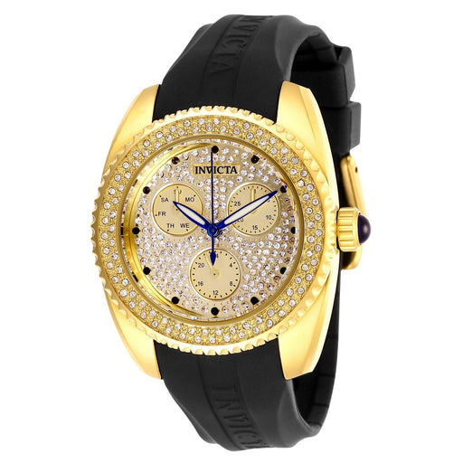 Invicta Women's 28485 Angel Black Silicone Watch