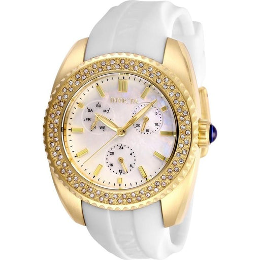 Invicta Women's 28488 Angel White Silicone Watch